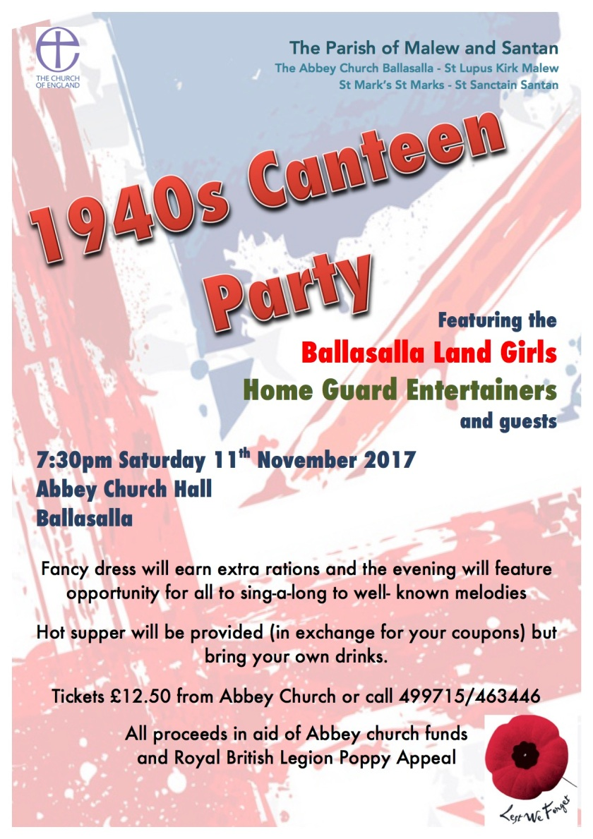 1940s canteen party